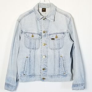 Lee | Vtg Distressed Denim Trucker Jacket